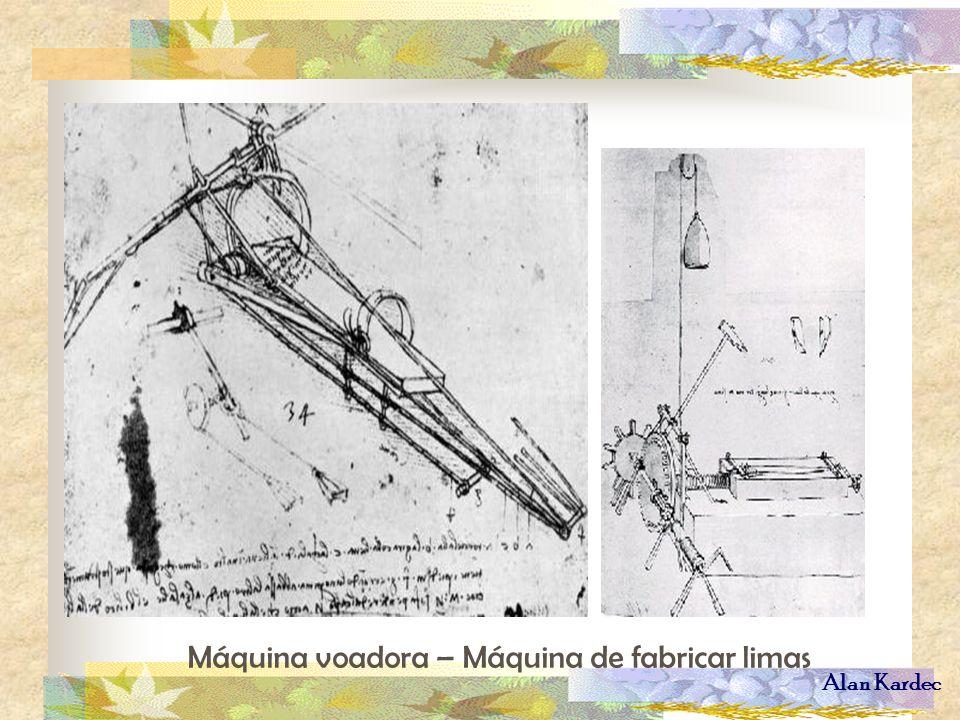 Máquina voadora – Máquina de fabricar limas