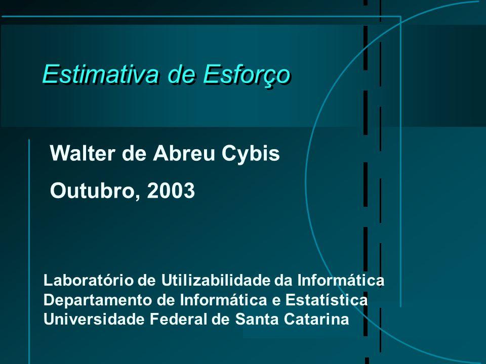 Walter de Abreu Cybis Outubro, 2003