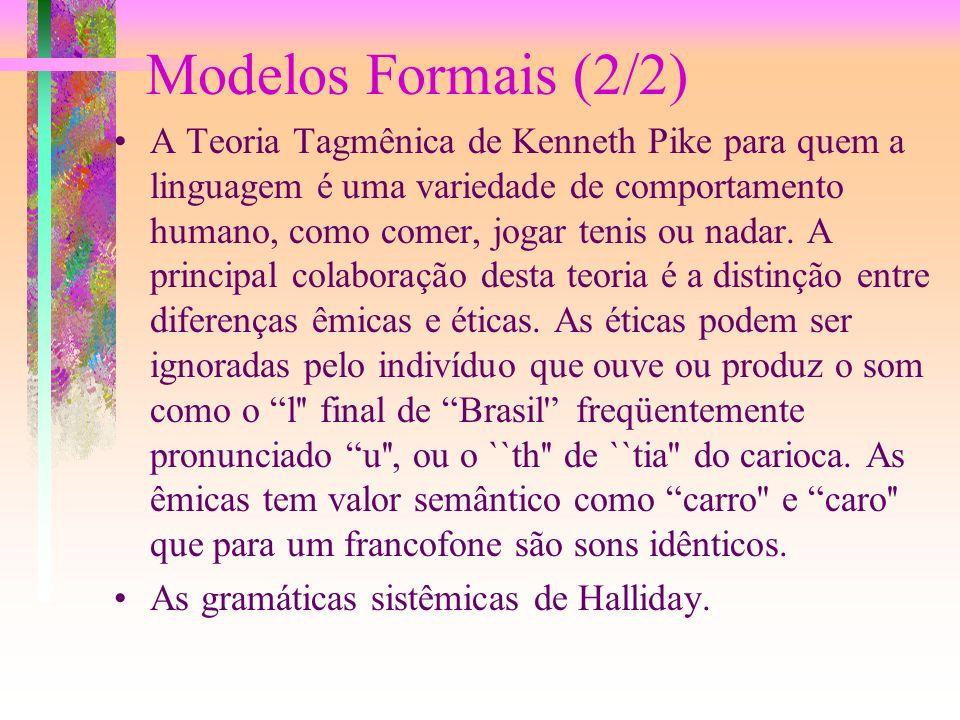 Modelos Formais (2/2)