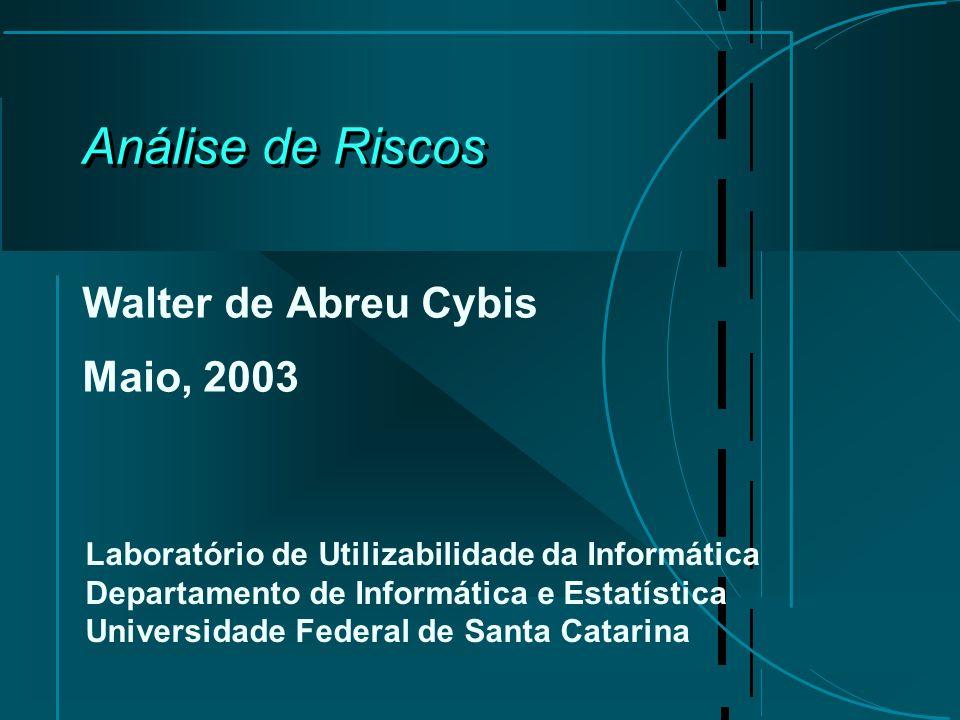 Walter de Abreu Cybis Maio, 2003