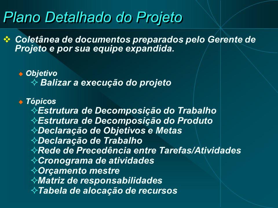 Plano Detalhado do Projeto