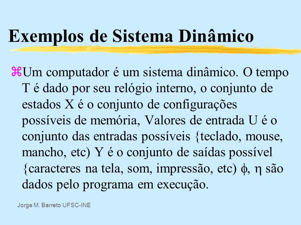 Exemplos de Sistema Dinâmico