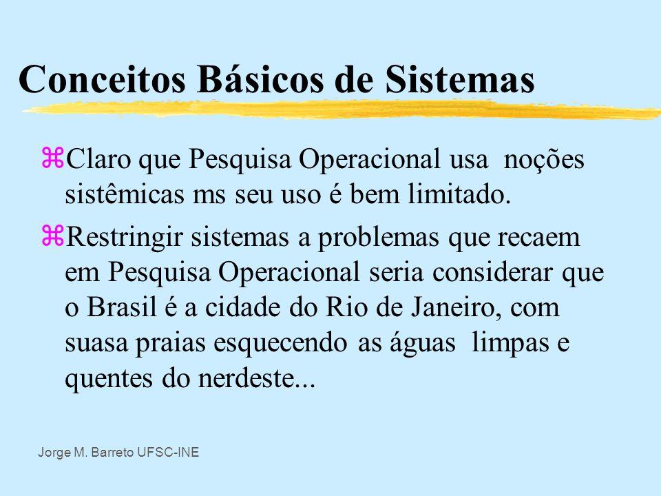 Conceitos Básicos de Sistemas
