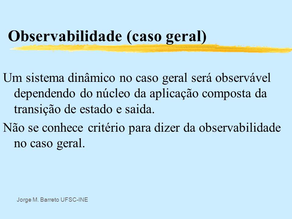 Observabilidade (caso geral)