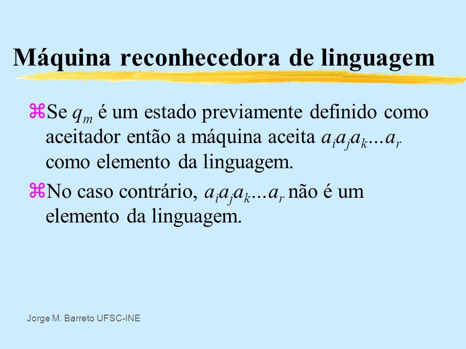 Máquina reconhecedora de linguagem