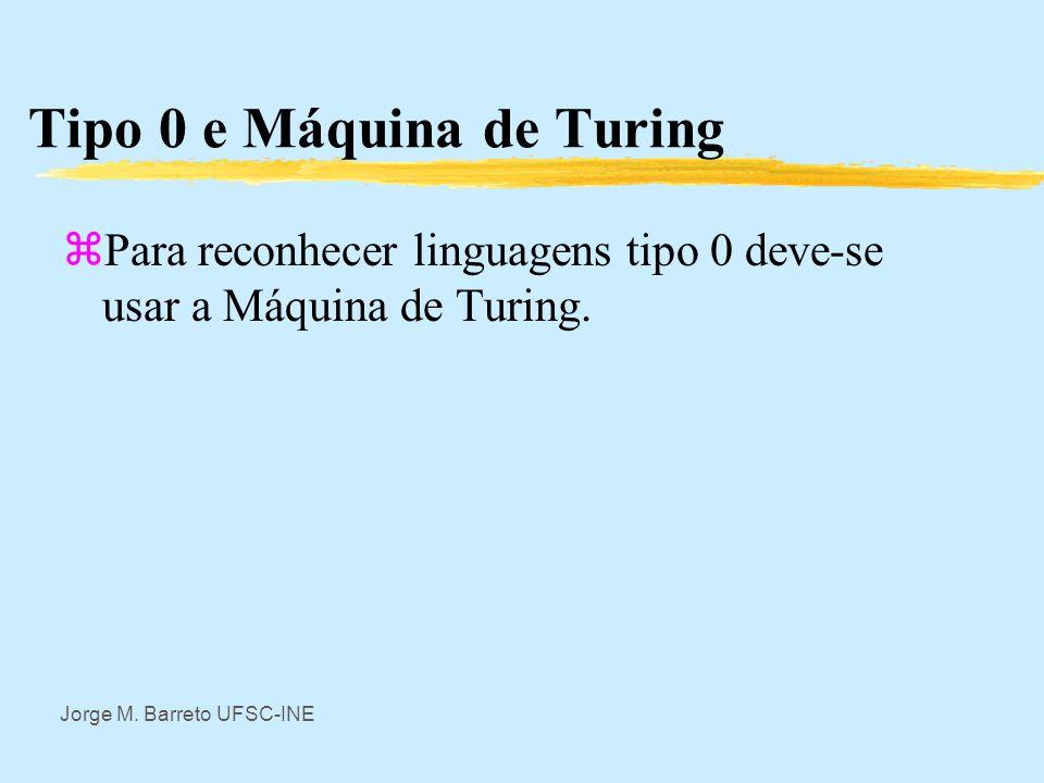 Tipo 0 e Máquina de Turing