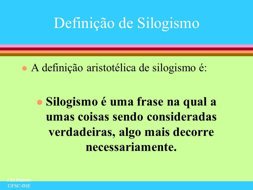 Definição de Silogismo