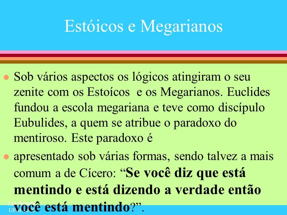 Estóicos e Megarianos