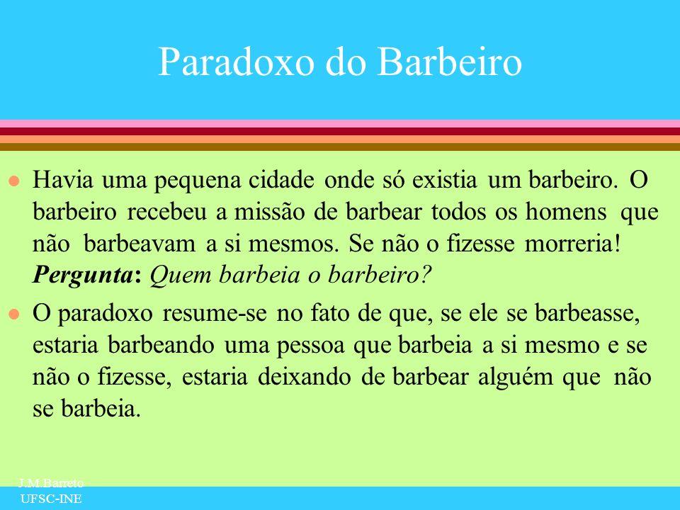 Paradoxo do Barbeiro