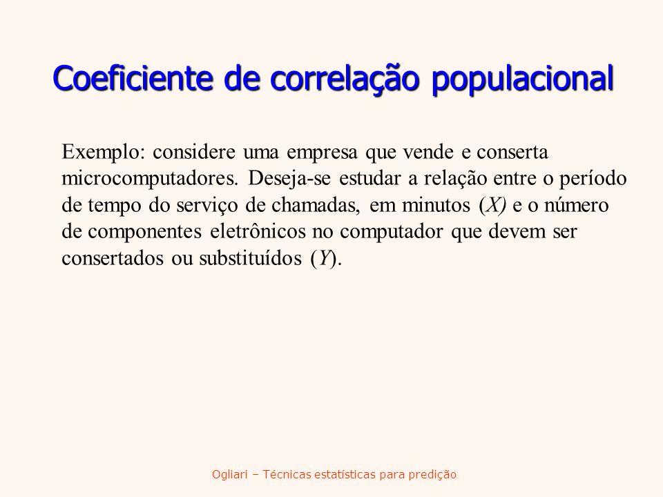 Coeficiente de correlação populacional