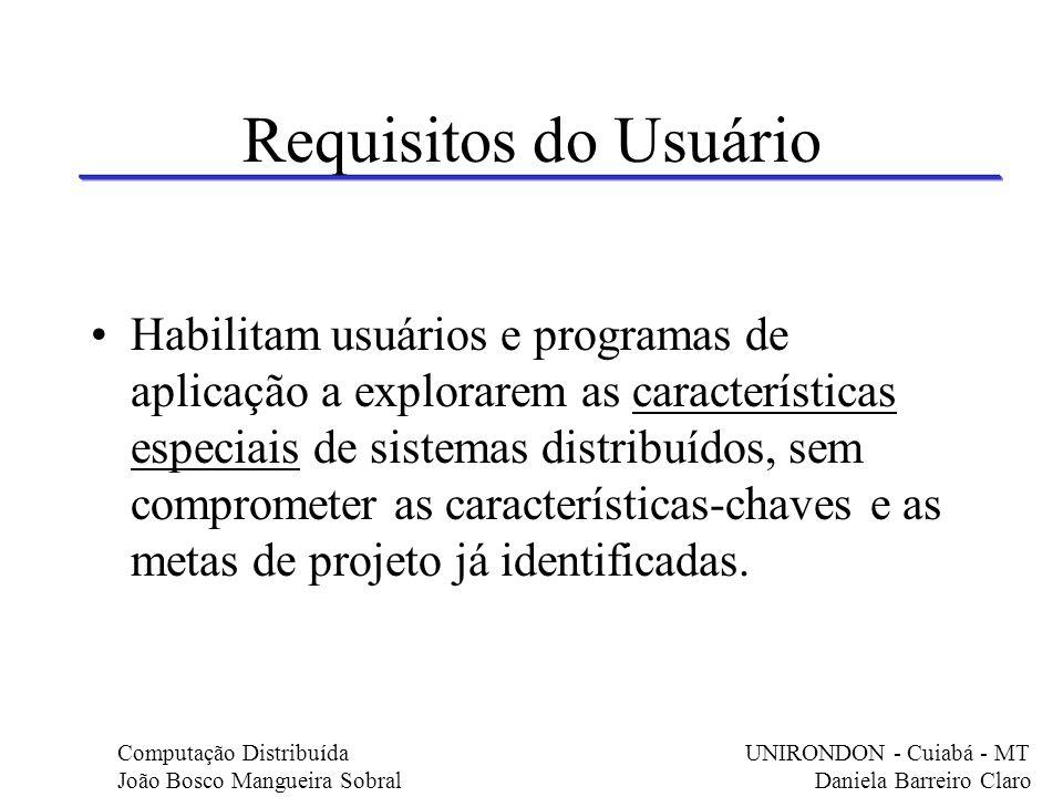 Requisitos do Usuário