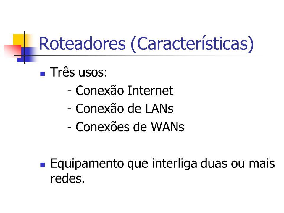 Roteadores (Características)