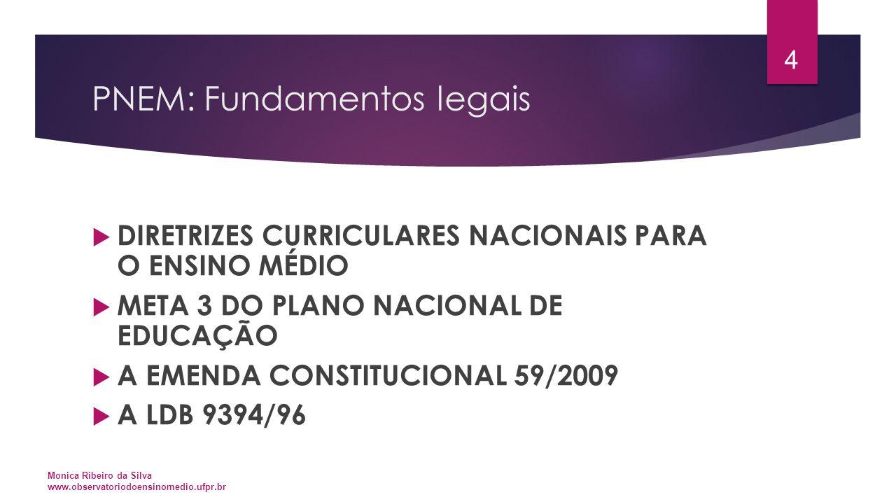 PNEM: Fundamentos legais