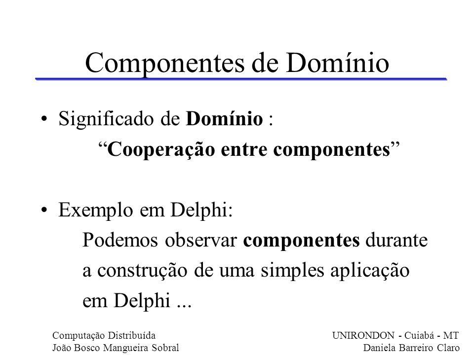 Componentes de Domínio