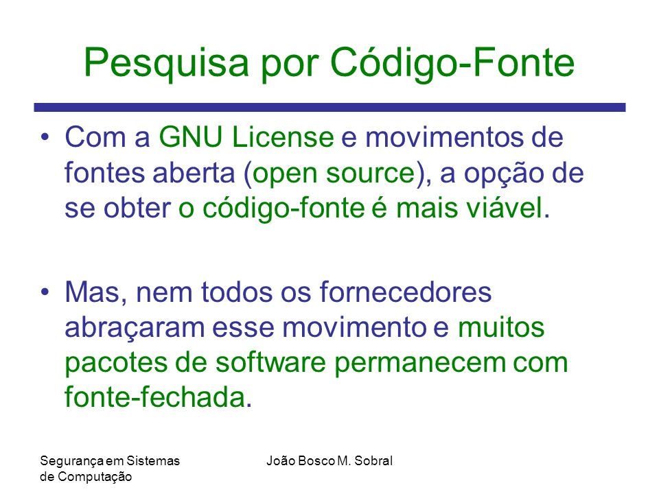 Pesquisa por Código-Fonte
