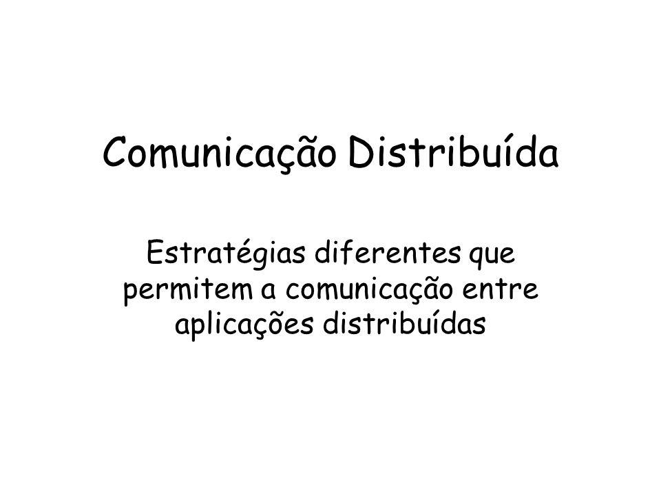 Comunicação Distribuída