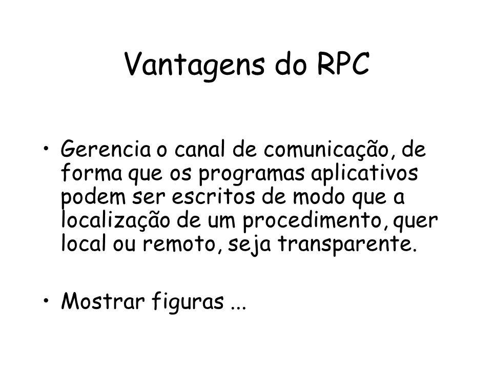 Vantagens do RPC