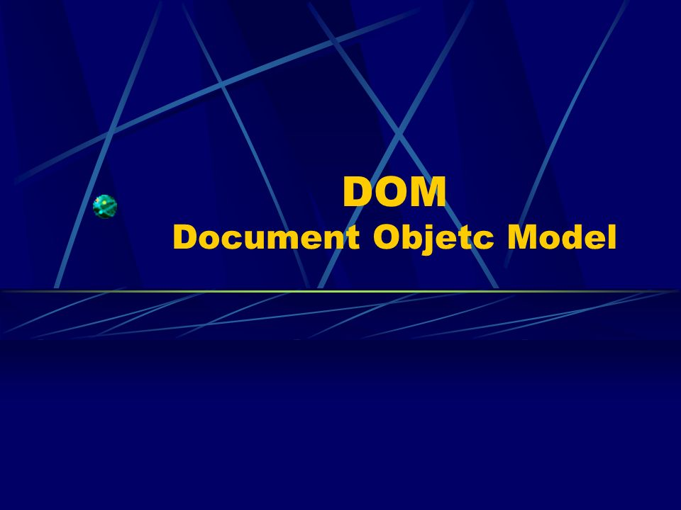DOM Document Objetc Model