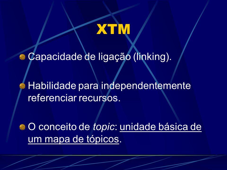 XTM Capacidade de ligação (linking).