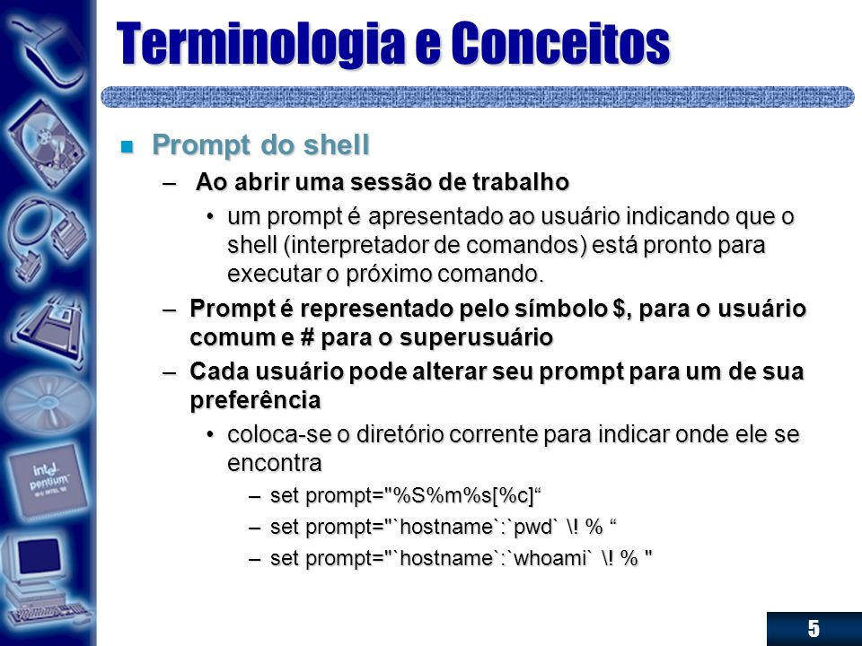 Terminologia e Conceitos