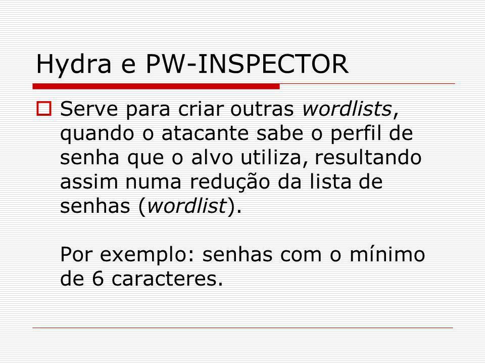 Hydra e PW-INSPECTOR
