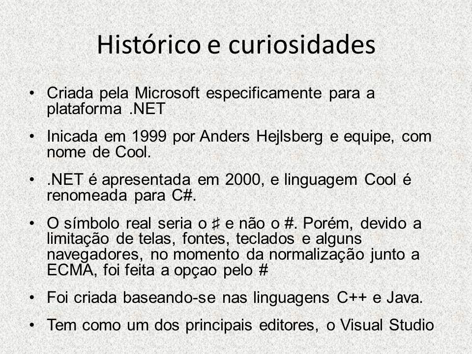 Histórico e curiosidades