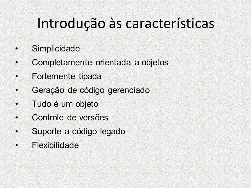 Introdução às características