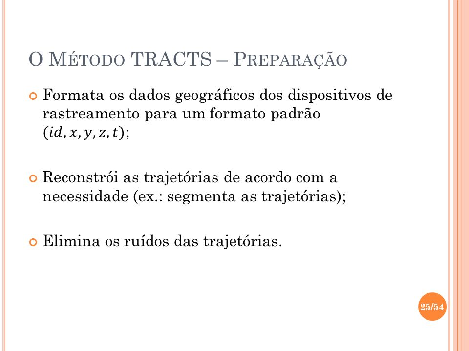 O Método TRACTS – Preparação