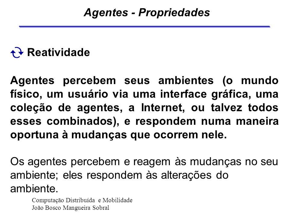 Agentes - Propriedades