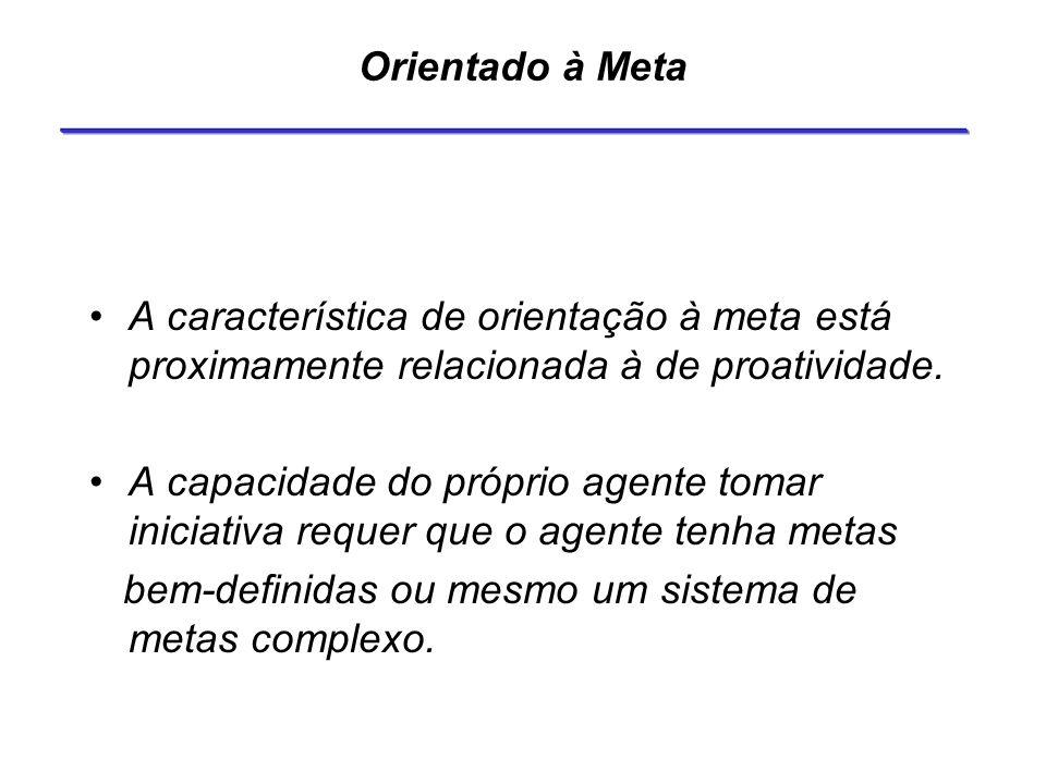 Orientado à Meta A característica de orientação à meta está proximamente relacionada à de proatividade.
