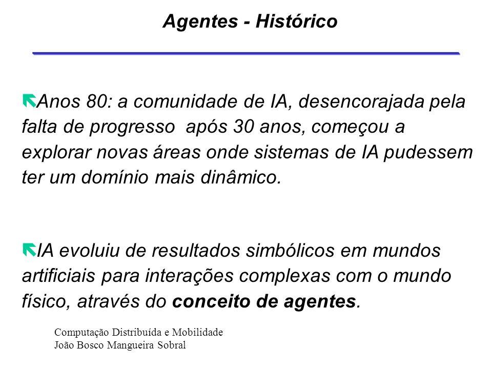 Agentes - Histórico