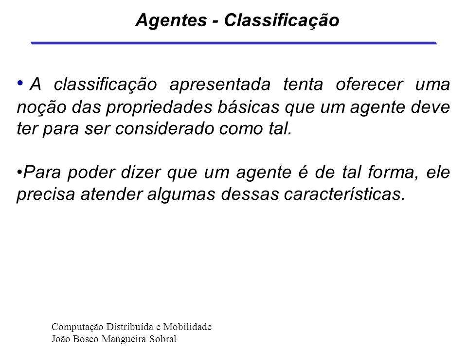 Agentes - Classificação