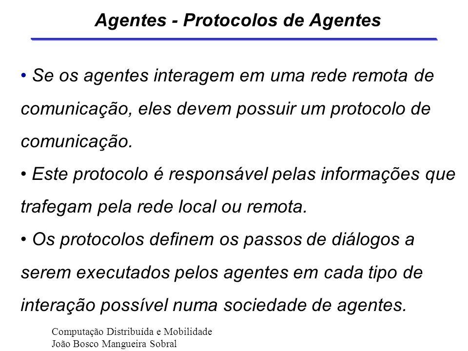 Agentes - Protocolos de Agentes