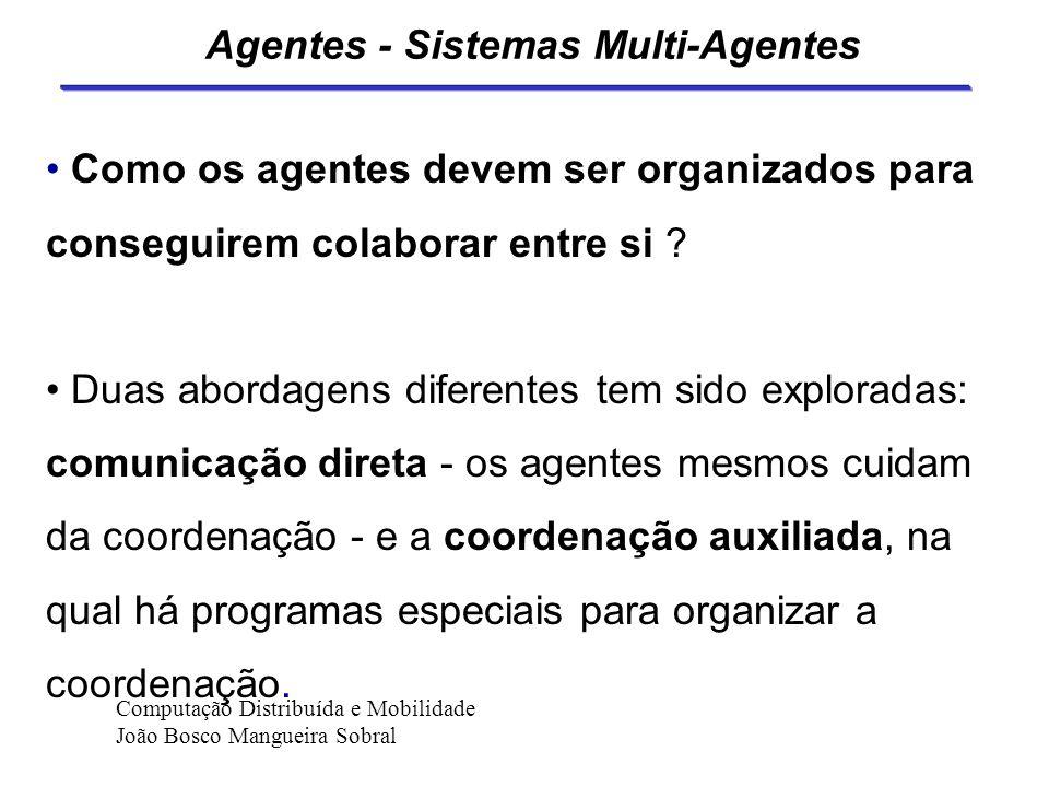Agentes - Sistemas Multi-Agentes