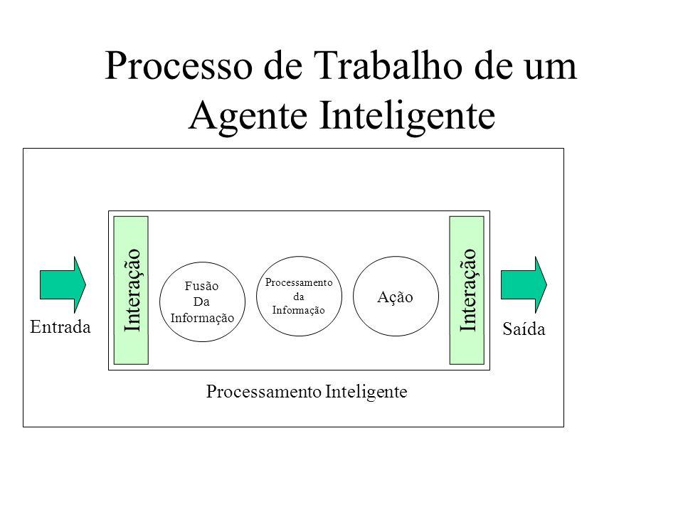 Processo de Trabalho de um Agente Inteligente