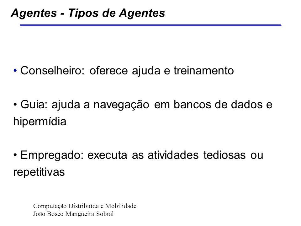 Agentes - Tipos de Agentes