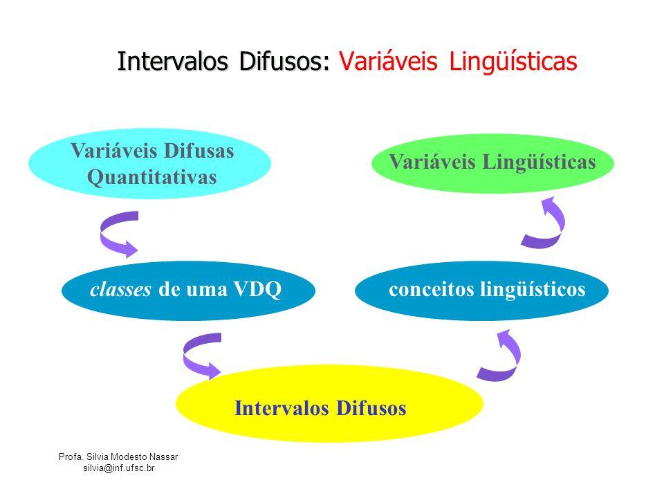 Intervalos Difusos: Variáveis Lingüísticas