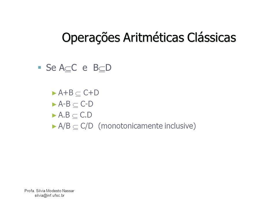 Operações Aritméticas Clássicas
