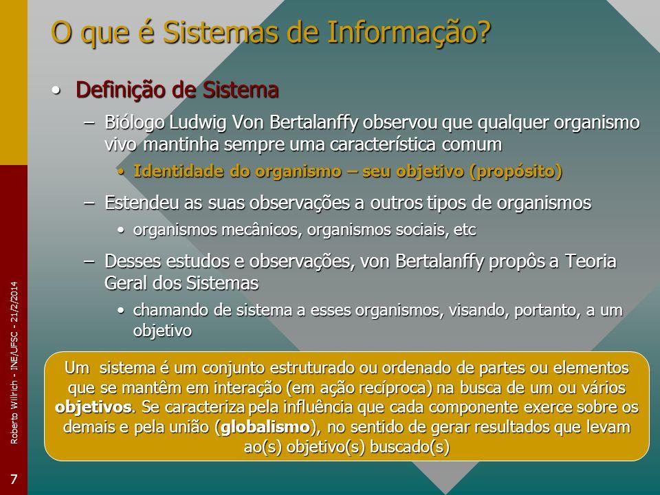 O que é Sistemas de Informação