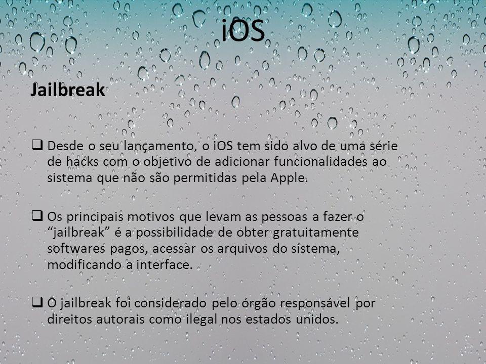 iOS Jailbreak.