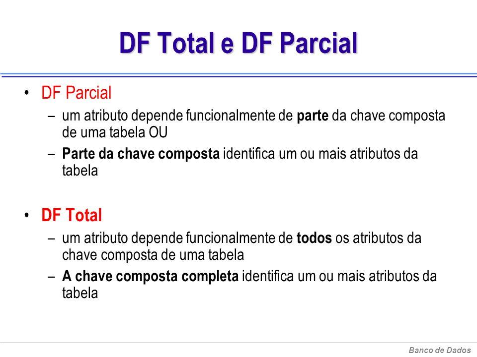 DF Total e DF Parcial DF Parcial DF Total