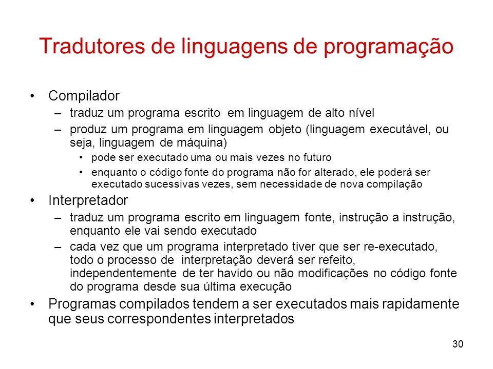 Tradutores de linguagens de programação