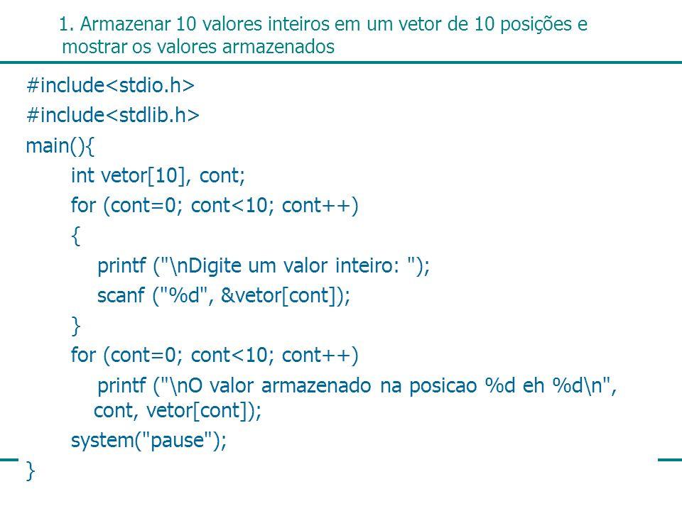 #include<stdio.h> #include<stdlib.h> main(){
