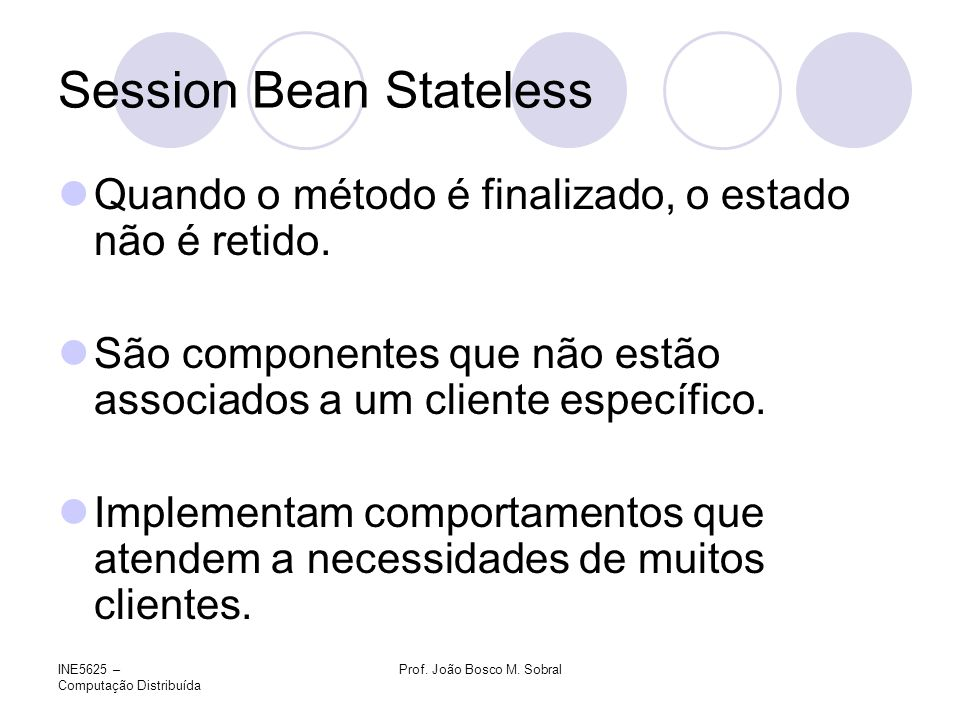 Session Bean Stateless