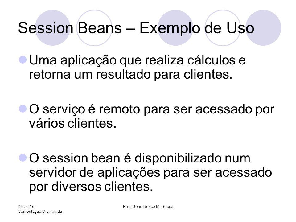 Session Beans – Exemplo de Uso