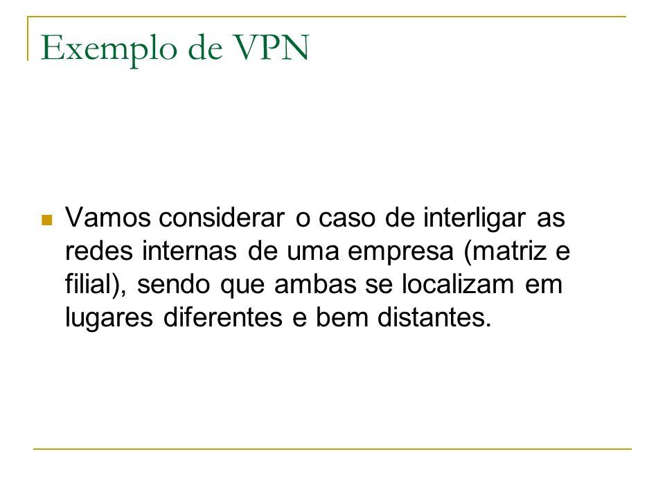 Exemplo de VPN
