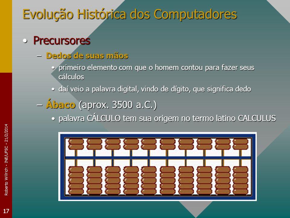 Evolução Histórica dos Computadores
