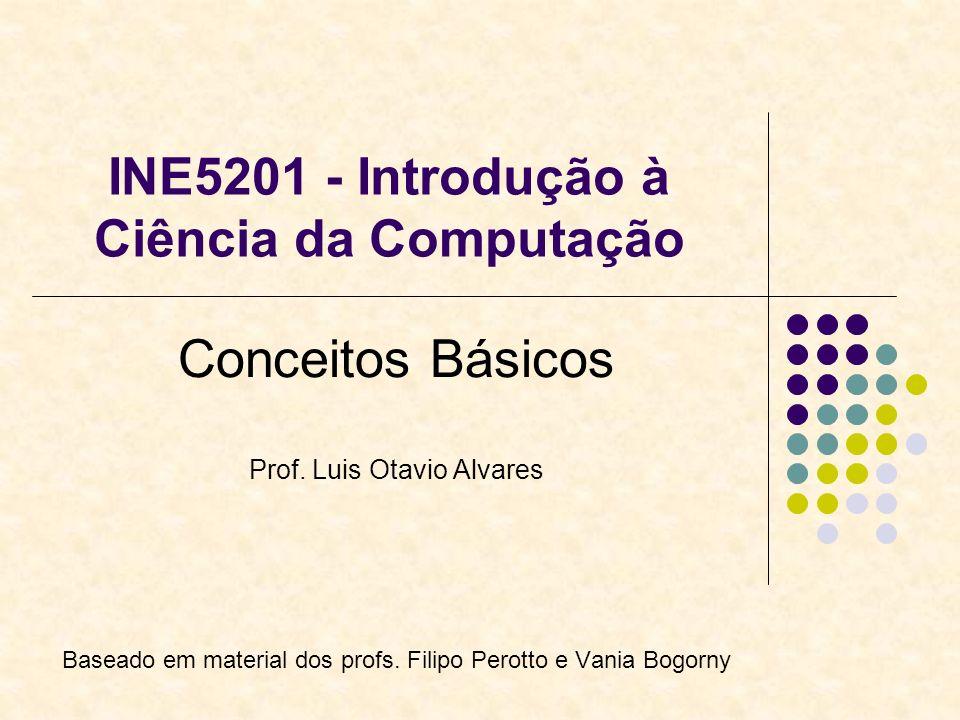 INE5201 - Introdução à Ciência da Computação