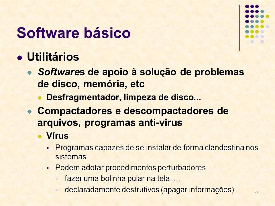 Software básico Utilitários