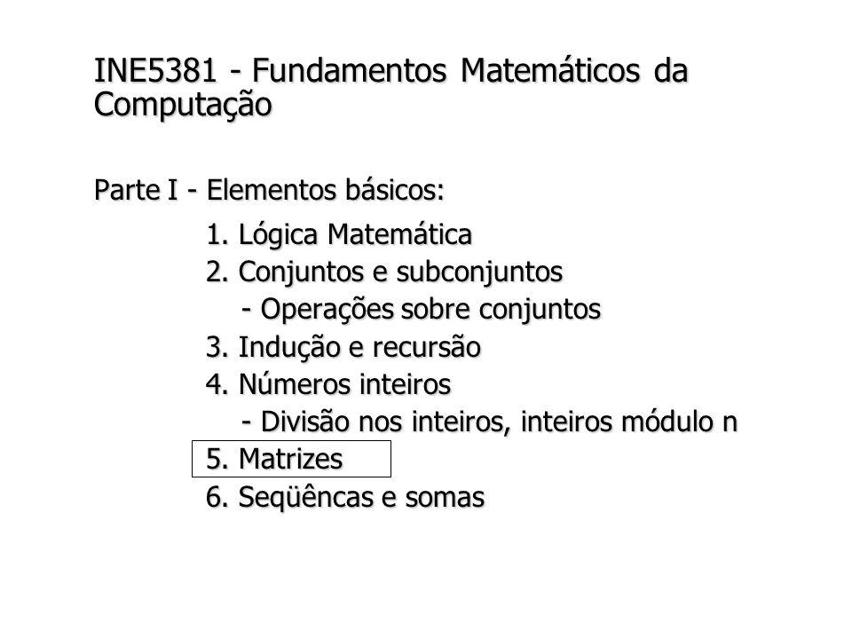 INE5381 - Fundamentos Matemáticos da Computação